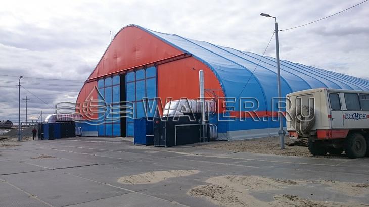 место установки промышленной системы водоподготовки