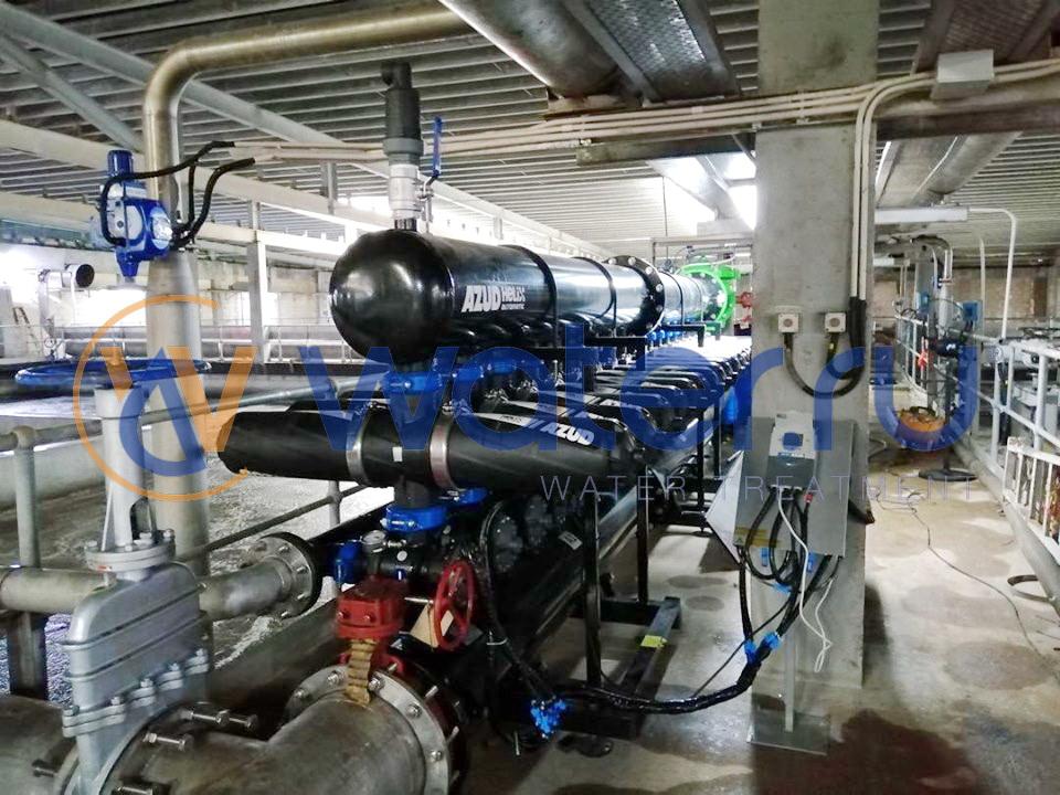 Дисковый фильтр AZUD HELIX 4DCL16 HF/20FX производительностью 800 м3/ч